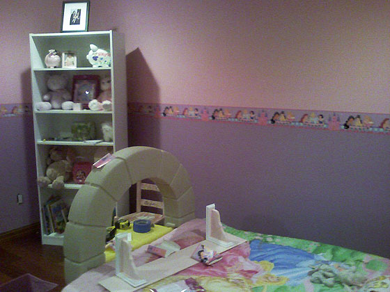 House Located in Roslyn, LI, NY. - Girl's Bedroom - Princess Theme