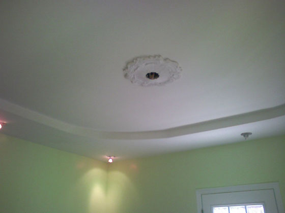 House Located in Brookly, NY. - Ceiling