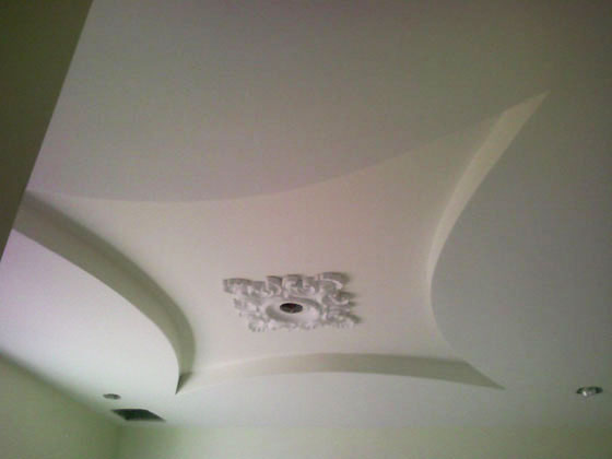 House Located in Brookly, NY. - Ceiling Close Up