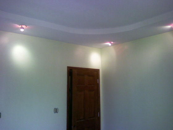House Located in Brookly, NY. - Ceiling - Displaying Door and Ceiling Lights